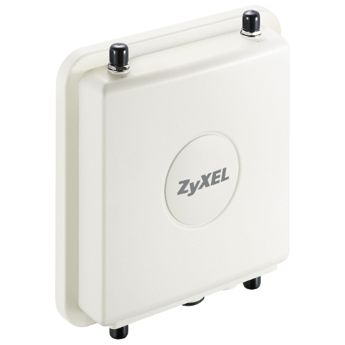 ZyXEL NWA3550-N Всепогодная двухдиапазонная точка доступа Wi-Fi Outdoor 802.11a/g/n корпоративного уровня с функцией контроллера беспроводной сети, двумя радио интерфейсами и поддержкой PoE (без антенн, рекомендуется 2 комплекта ANT2105)